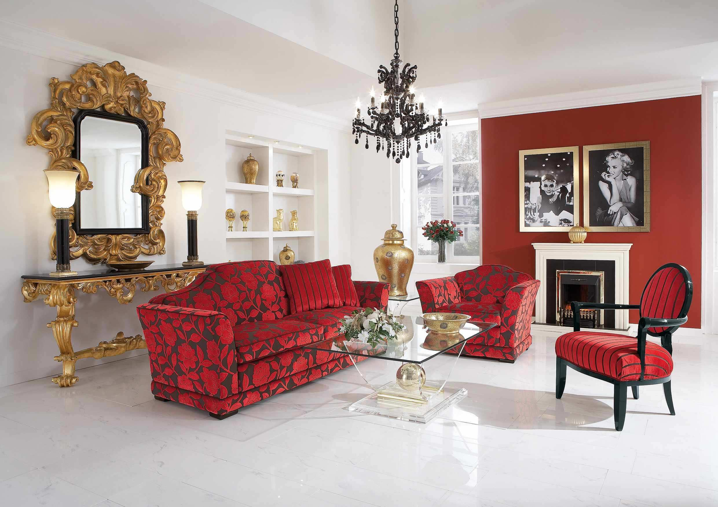 Red Accent Chairs For Living Room Jeeworld | Jeeworld.com